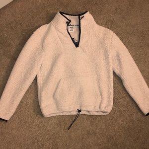 victoria secret Jacket, fur on the inside.